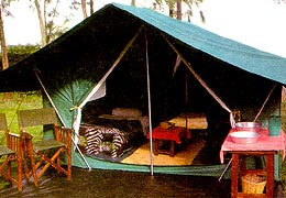 Thmoson Safaris' Classic Camp
